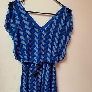 Candies blue women's dress